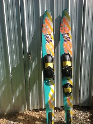 Pinnacle 150 Cut'n Jump Adult Double  Concave Water Skis