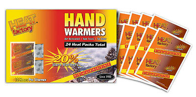 Unisex Heat Factory Hand Warmers, White, OS