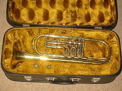 "Very nice used  rotary  trumpet in Bb ""Prim Lidl"""