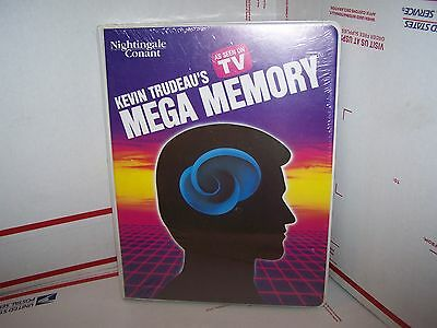 Kevin Trudeau's  Mega Memory As Seen On Tv  - 8 Cassettes  - New And Sealed!!