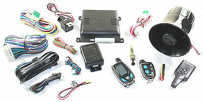 Audiovox Prestige APS997C 2-Way LCD Remote Start Car Alarm System RMAAPS997C