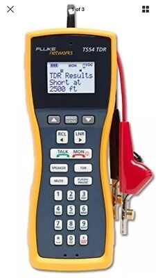 Fluke Networks TS54 TDR Telephone Test Set with piercing clips *Free Shipping*