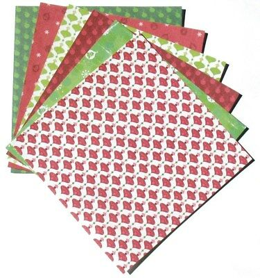 Christmas Ornaments - 6x6 Forever in Time Scrapbooking Paper Pack