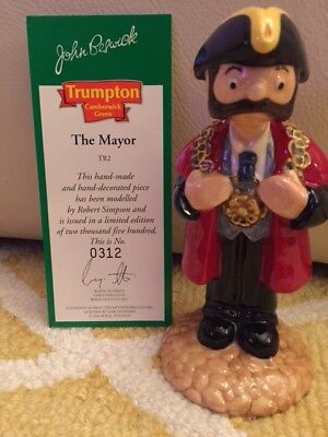 John Beswick Full Set of Trumpton Figurines / Boxed in mint condition! All TEN
