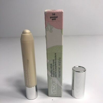 Read CLINIQUE Chubby Stick Eye Shadow 14 GRANDEST GOLD