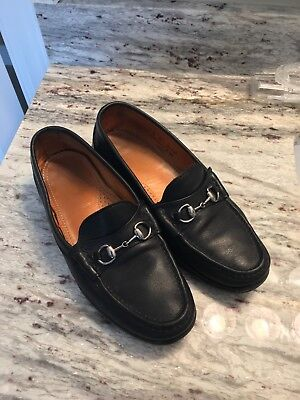 a5344b2f1c2 ALDEN Shoe Cape Cod Black Leather Horse Bit Loafers MENS Size 9 D H467 USA