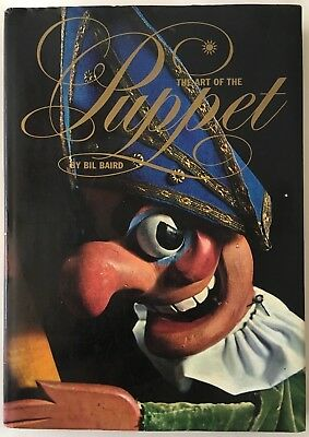 Vintage 1965 THE ART OF THE PUPPET by BIL BAIRD Marionettes Masks ILLUSTRATIONS