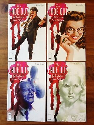 The Fade Out 9 10 11 12 1st Print Ed Brubaker Sean Phillips VG/FN Image 2015/16