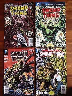 Swamp Thing V5 - 6 7 8 12 Animal Man Rotworld New 52 Snyder Paquette Rudy VG/FN