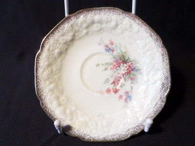 Crown Ducal. Florentine. Picardy. Saucer. Made In England.