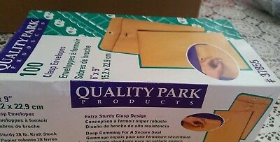 Quality Park Catalog Envelope 6 x 9 Inches Brown Kraft Carton of 100 new