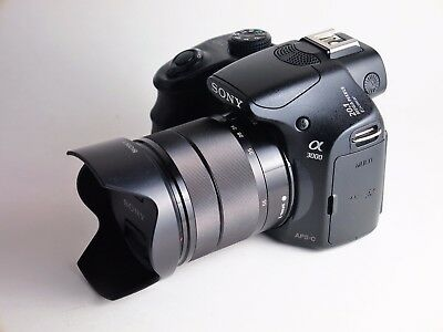 Sony Alpha a3000 20.1MP w/ E OSS 18-55mm - ONLY 617 Shutter Count