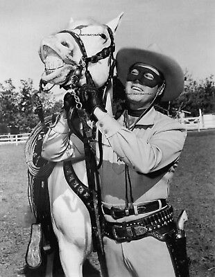 The Lone Ranger Tv Western Clayton Moore 8X10 Photo