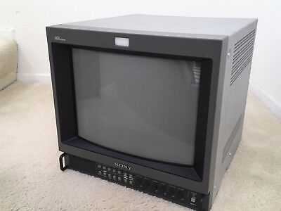 "Sony 14"" PVM-14M4U Trinitron HR Video Monitor with SDI input/output"