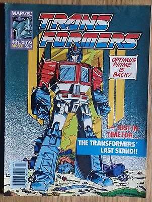 Transformers UK Comic Issue 331