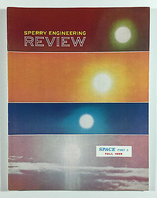 Sperry Engineering Review, Space Part 2, Fall 1965, Sperry Gyroscope Company NY