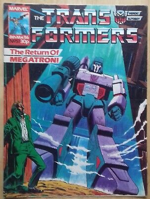Transformers UK Comic Issue 51
