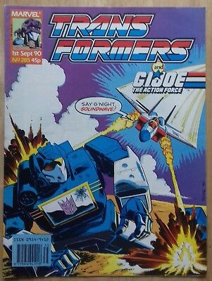 Transformers UK Comic Issue 285