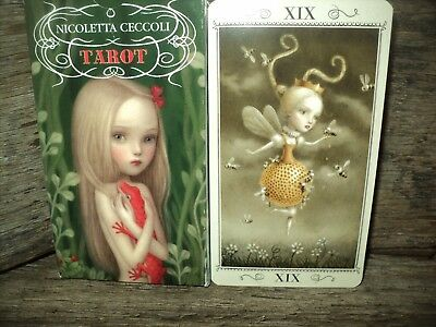 Nicoletta Ceccoli Tarot Cards Deck & Booklet Set - Gently Used -Boxed & Complete