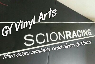 Scion Racing Windshield Decals Cars Stickers Banners Sun Visor Strip