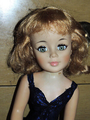 """Lovely Madame Alexander 1960's Godey Doll 20"""" Cissy Wearing A Lace Teddy Lil Tlc"""