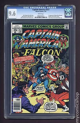Captain America (1968 1st Series) #217 CGC 9.6 0962535011