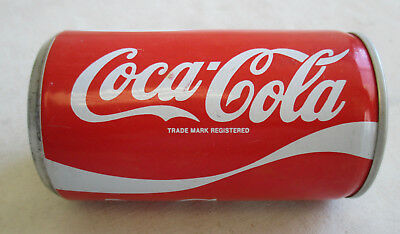1960s Vintage COCA COLA Steel Pop Pull Tab CAN Singapore 325 ml excellent
