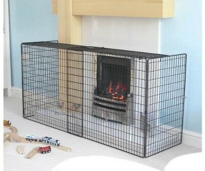 Clippasafe Extendable Fireguard Extendable From 94cm to 174cm