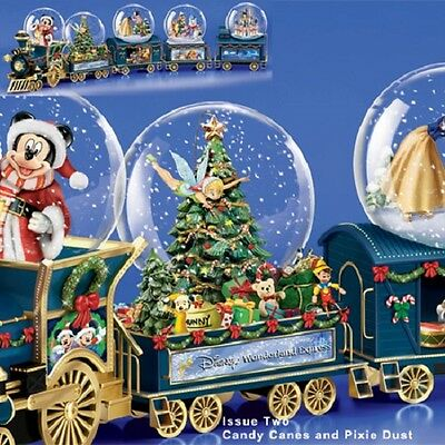 Candy Canes and Pixie Dust - Mickey Mini Express Snow Globe Train #2 Disney