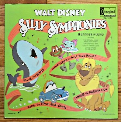 Disney Silly Symphonies 1971 Record Dq-1335