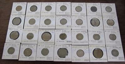 Saudi Arabia Lot Of 28 Coins! Wide Selection! Circ To Unc! Look At Pics!