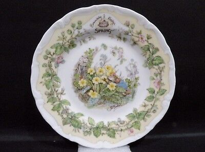Royal Doulton Side Plate - Spring - Brambly Hedge Collection vgc by Jill Barklem