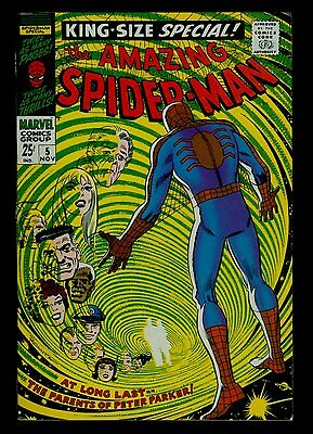 Marvel Amazing SPIDER-MAN King-Size Annual #5 Peter Parkers' Parents VFN- 7.5