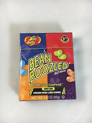 2 x Jelly Belly BEAN BOOZLED Challenge! 3RD edition 45g each box