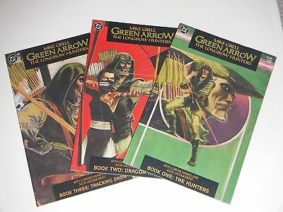 Mike Grell's  Green Arrow: The Long Bow Hunters  #1, #2, & #3