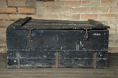 Old Wooden Cargo Chest