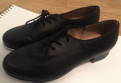 Bloch Laced Tap Shoes - Black Ladies Size 10