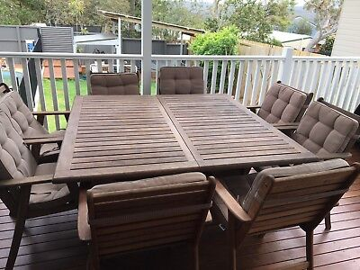 Harvey Norman Outdoor Table 8-10 Seater