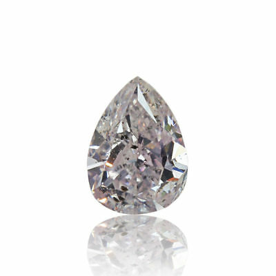 Pink Natural Diamond 0 .32 Ct Fancy Light Color GIA Certified Loose Pear Cut