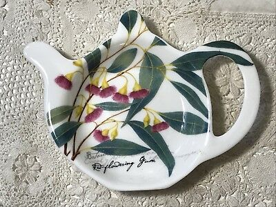 Tea Bag Tidy Dish RED FLOWERING GUM The Gardens Table by Maxwell & Williams
