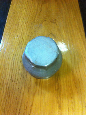 "1920's 2 1/8"" Screw on Hubcap Dust Grease cover Hub CapThreaded 20's"
