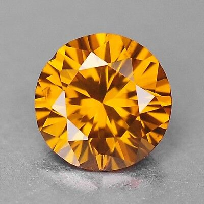 0.15 Cts FANCY TOP SPARKLING QUALITY ORANGE YELLOW COLOR NATURAL DIAMONDS
