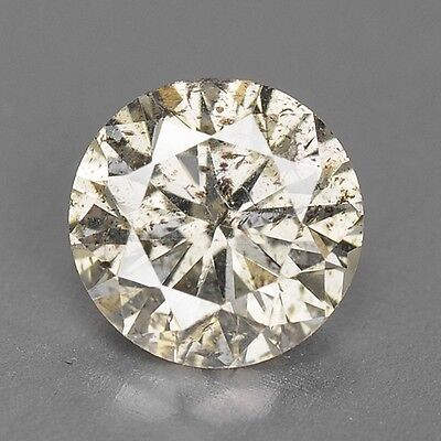 0.44 Cts FANCY SPARKLING YELLOWISH GREY NATURAL LOOSE DIAMONDS
