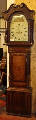 Oak Cabinet Crossbanding 8 Day Grandfather Clock  Geof Williams from Montgomery
