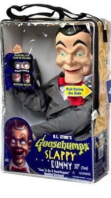 RARE Goosebumps SLAPPY Dummy Ventriloquist Doll with Tote Bag NEW! SHIPS FAST!