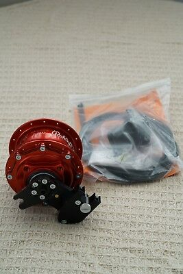 Rohloff Speedhub - Red For Disc Brakes