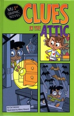 Clues in the Attic (My First Graphic Novel) (Hardcover), Meister, Cari M., 9781.
