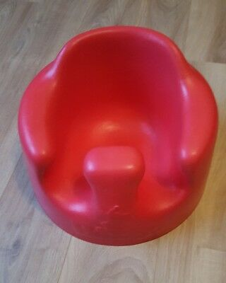 Bumbo Seat in a Lovely Red Great Condition.