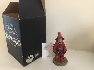 discworld clarecraft DW01 Rincewind. Box And Tent Card