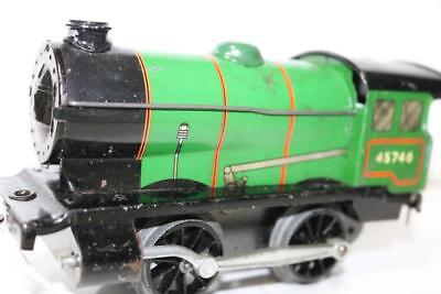 hornby o gauge loco  needs servicer run ok  no key ks364